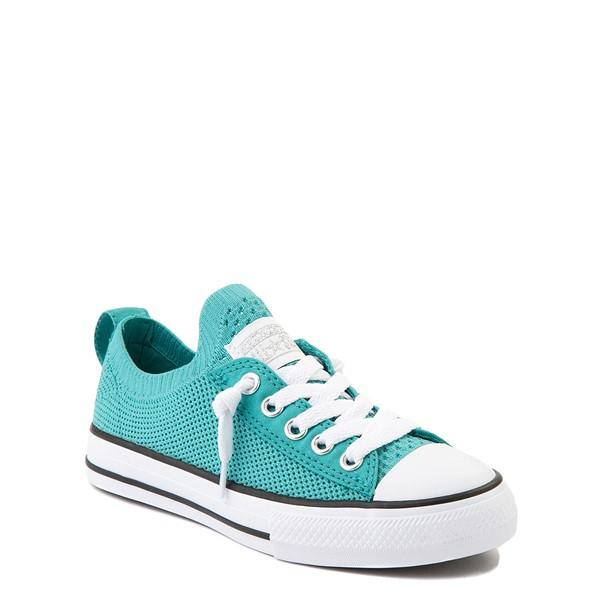 alternate view Converse Chuck Taylor All Star Shoreline Knit Sneaker - Little Kid / Big Kid - Harbor TealALT5