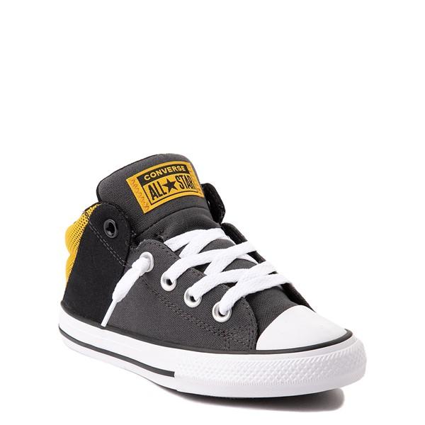 alternate view Converse Chuck Taylor All Star Axel Mid Sneaker - Little Kid / Big Kid - Black / GoldALT5