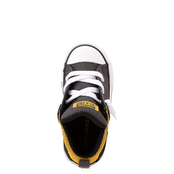 alternate view Converse Chuck Taylor All Star Axel Mid Sneaker - Baby / Toddler - Black / GoldALT2