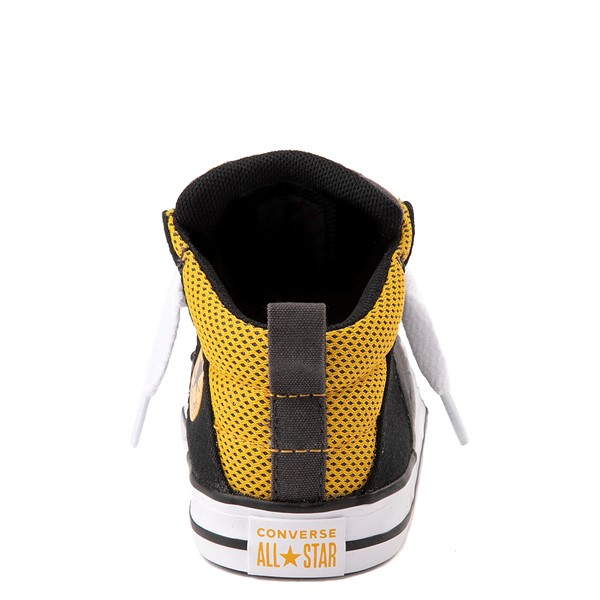 alternate view Converse Chuck Taylor All Star Axel Mid Sneaker - Baby / Toddler - Black / GoldALT4
