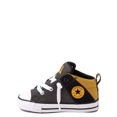 Alternate view of Converse Chuck Taylor All Star Axel Mid Sneaker - Baby / Toddler - Black / Gold