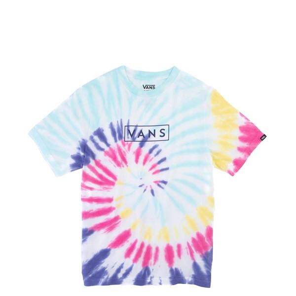 Main view of Vans Tie Dye Easy Box Tee - Little Kid / Big Kid - Rainbow