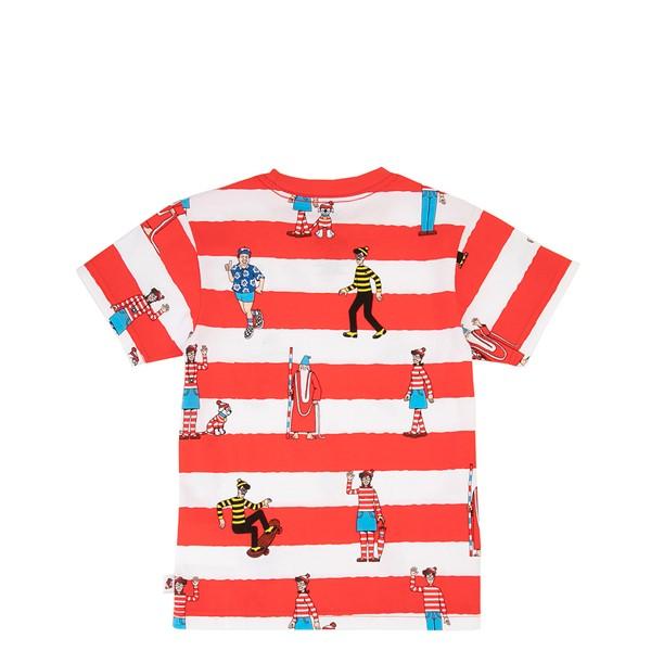 alternate view Vans x Where's Waldo Stripe Tee - Toddler - Racing RedALT1