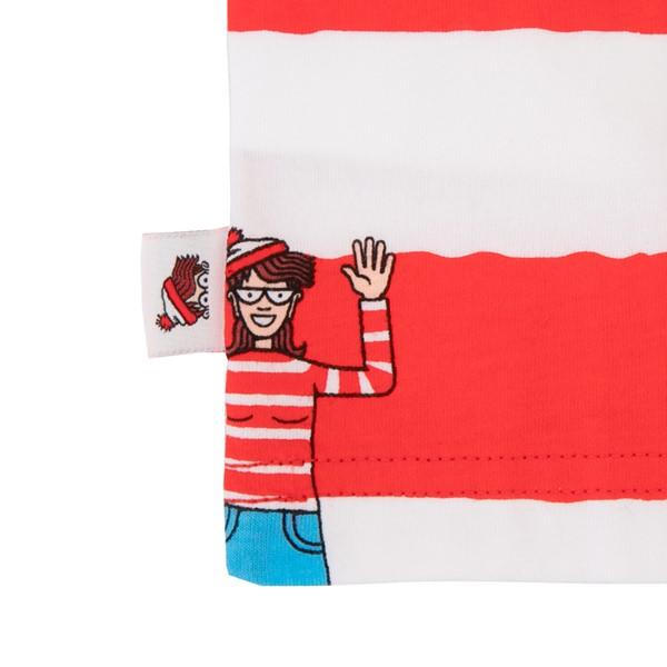 alternate view Vans x Where's Waldo Stripe Tee - Toddler - Racing RedALT2