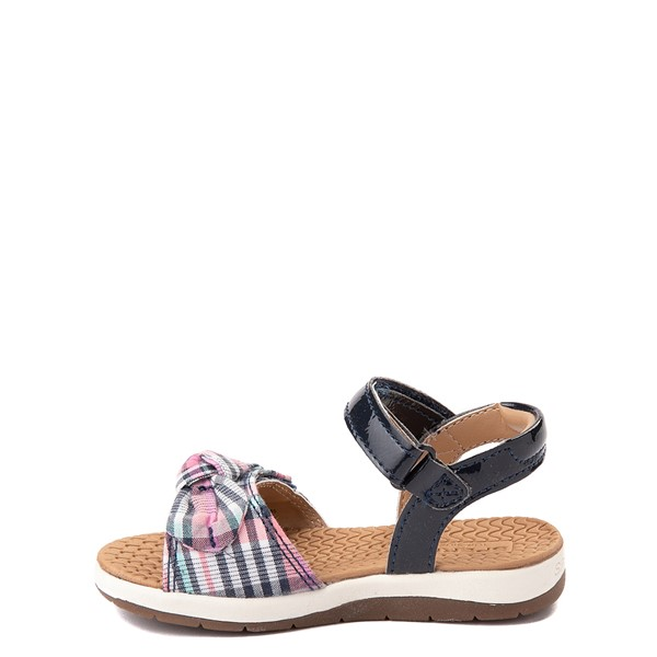 alternate view Sperry Top-Sider Galley Sandal - Toddler / Little Kid - Navy / Pink PlaidALT1