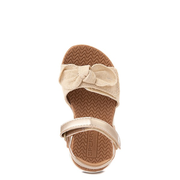 alternate view Sperry Top-Sider Galley Sandal - Toddler / Little Kid - ChampagneALT2