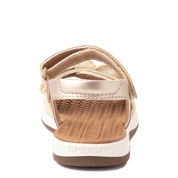 alternate view Sperry Top-Sider Galley Sandal - Toddler / Little Kid - ChampagneALT4