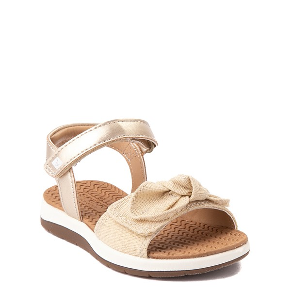 alternate view Sperry Top-Sider Galley Sandal - Toddler / Little Kid - ChampagneALT5