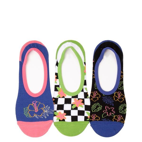 Womens Vans Tropical Canoodle Liners 3 Pack - Multicolor