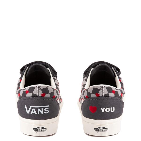alternate view Vans Old Skool V ComfyCush® Autism Acceptance Checkerboard Skate Shoe - AsphaltALT4