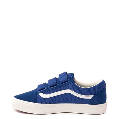 Alternate view of Vans Old Skool V ComfyCush® Autism Acceptance Checkerboard Skate Shoe - True Blue