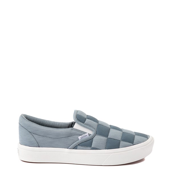 Vans Slip On ComfyCush® Autism Acceptance Checkerboard Skate Shoe - Gray