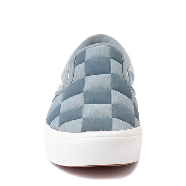 alternate view Vans Slip On ComfyCush® Autism Acceptance Checkerboard Skate Shoe - GrayALT4