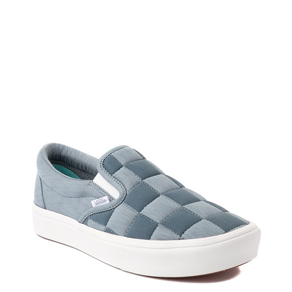 alternate view Vans Slip On ComfyCush® Autism Acceptance Checkerboard Skate Shoe - GrayALT5