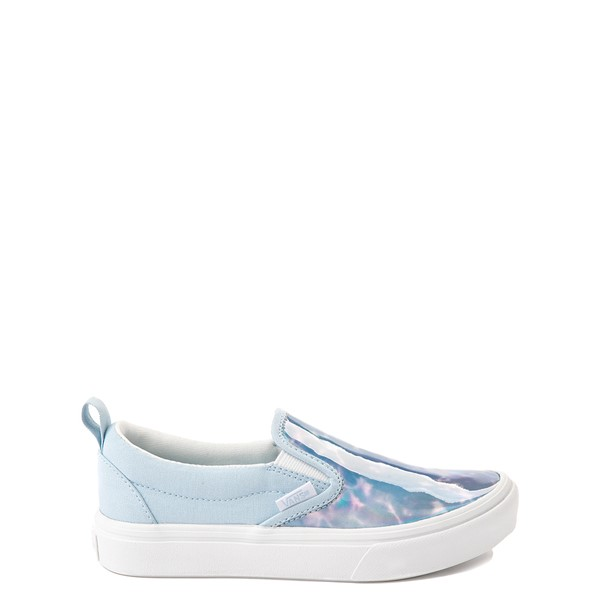 Main view of Vans Slip On ComfyCush® Autism Acceptance Skate Shoe - Little Kid - Dream Blue