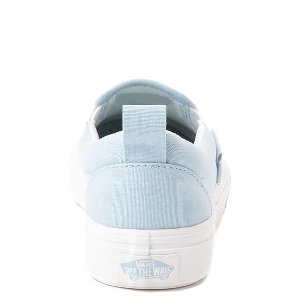 alternate view Vans Slip On ComfyCush® Autism Acceptance Skate Shoe - Little Kid - Dream BlueALT4