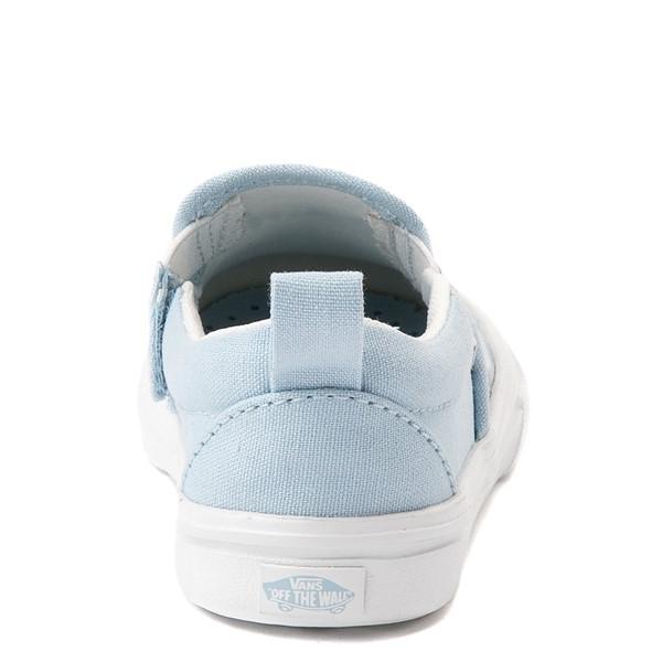 alternate view Vans Slip On V ComfyCush® Autism Acceptance Skate Shoe - Baby / Toddler - Dream BlueALT4