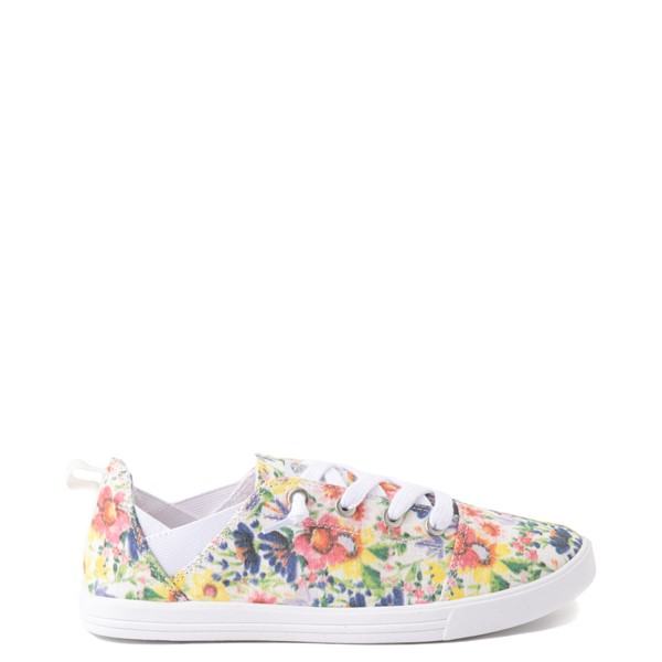 Womens Roxy Libbie Slip On Casual Shoe - Floral
