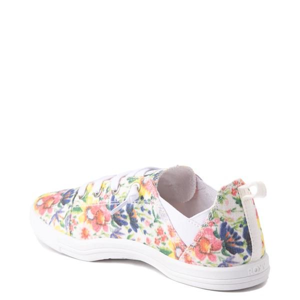 alternate view Womens Roxy Libbie Slip On Casual Shoe - FloralALT1