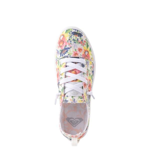 alternate view Womens Roxy Libbie Slip On Casual Shoe - FloralALT2
