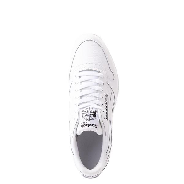 alternate view Mens Reebok Classic Athletic Shoe - White / BlackALT2