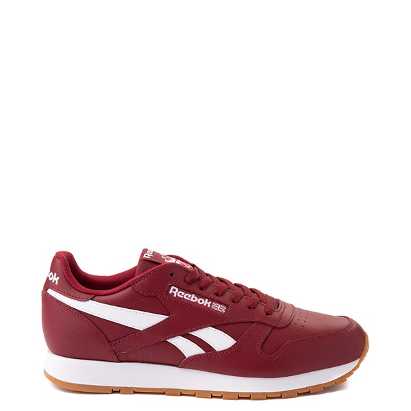 Main view of Mens Reebok Classic Athletic Shoe - Burgundy / Gum