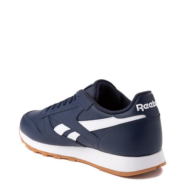 alternate view Mens Reebok Classic Athletic Shoe - Navy / GumALT1