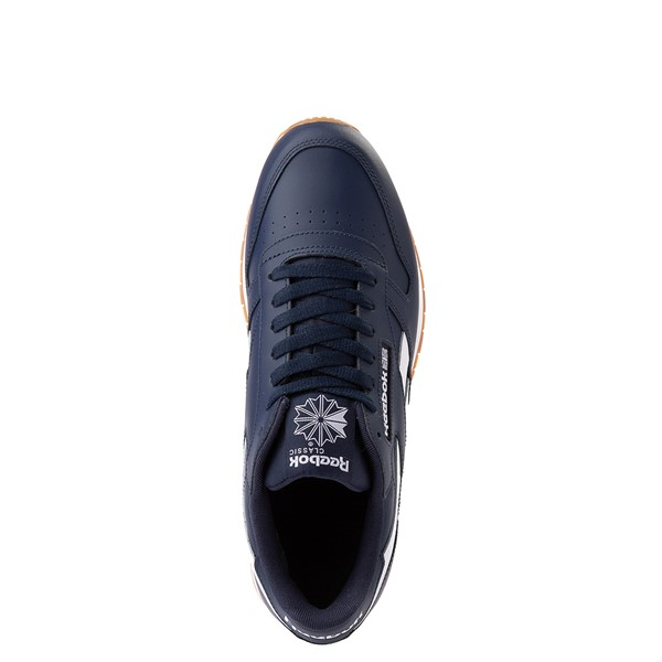 alternate view Mens Reebok Classic Athletic Shoe - Navy / GumALT2