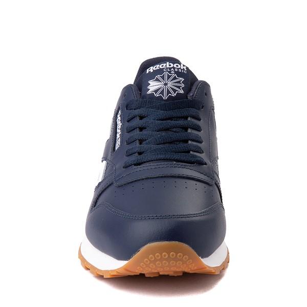 alternate view Mens Reebok Classic Athletic Shoe - Navy / GumALT4