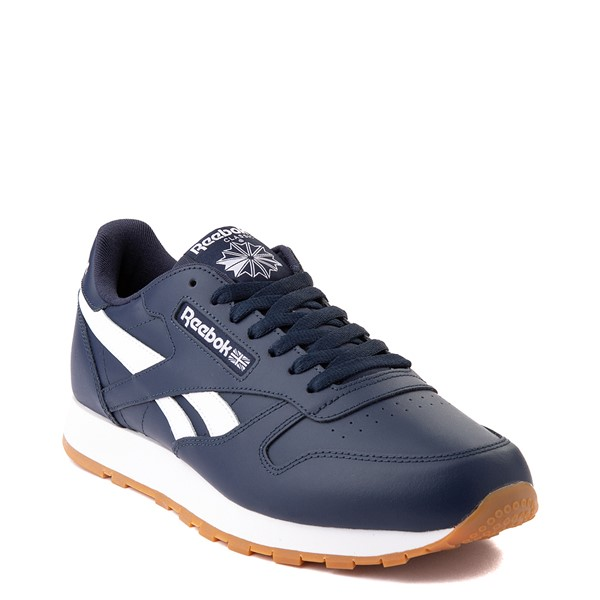 alternate view Mens Reebok Classic Athletic Shoe - Navy / GumALT5