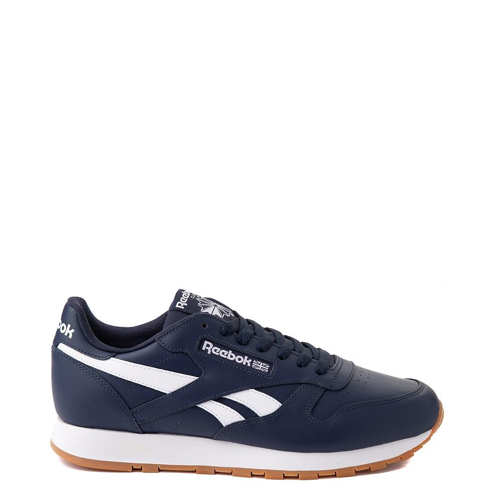 Mens Reebok Classic Athletic Shoe - Navy / Gum