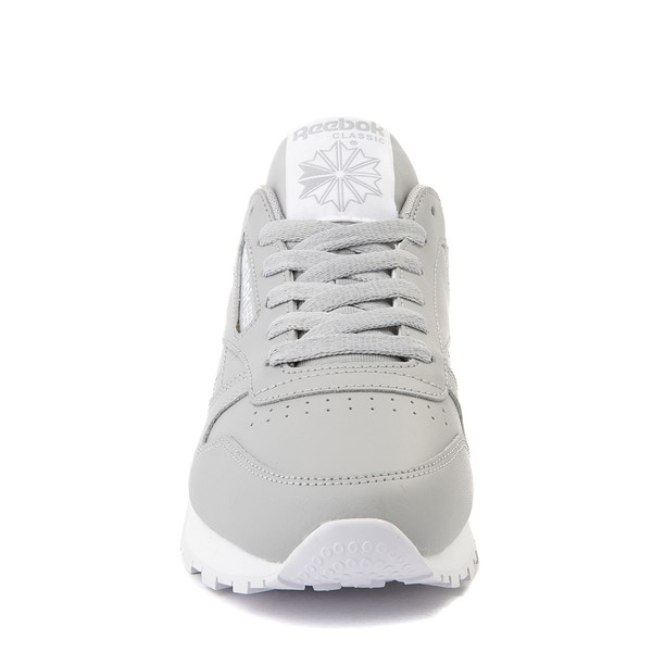 alternate view Womens Reebok Classic Athletic Shoe - GrayALT4