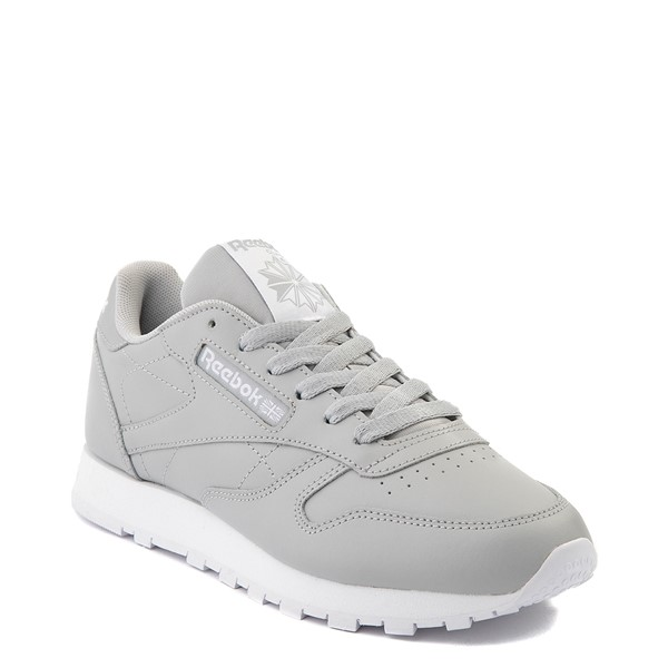alternate view Womens Reebok Classic Athletic Shoe - GrayALT5
