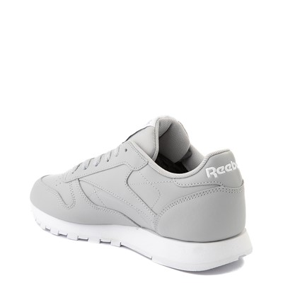 Alternate view of Womens Reebok Classic Athletic Shoe - Gray