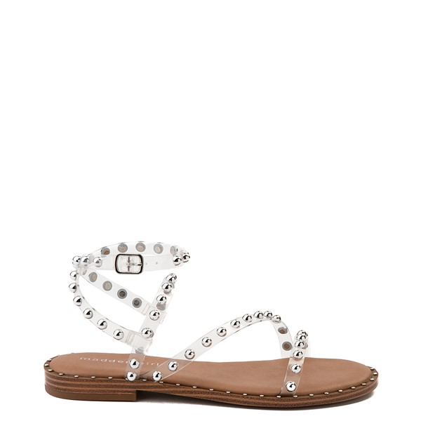 Womens Madden Girl Fiona Sandal - Clear