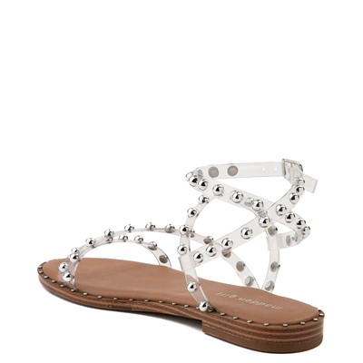 Alternate view of Womens Madden Girl Fiona Sandal - Clear