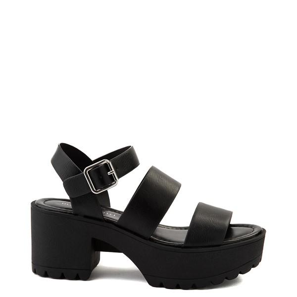 Main view of Womens Madden Girl Cali Platform Sandal - Black
