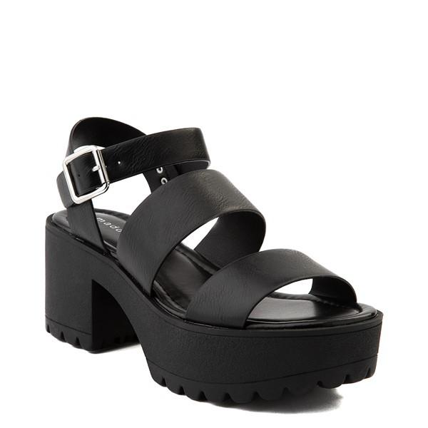 alternate view Womens Madden Girl Cali Platform Sandal - BlackALT5