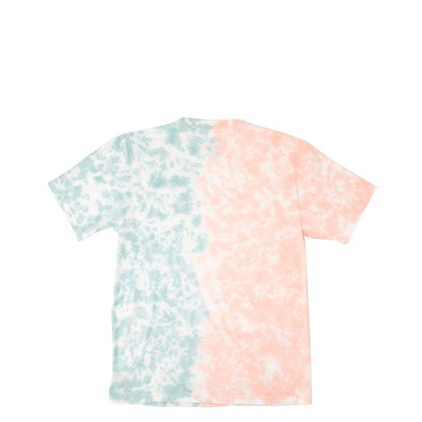 alternate view Vans Tie Dye Easy Box Tee - Little Kid / Big Kid - Fusion Coral / Cameo BlueALT1