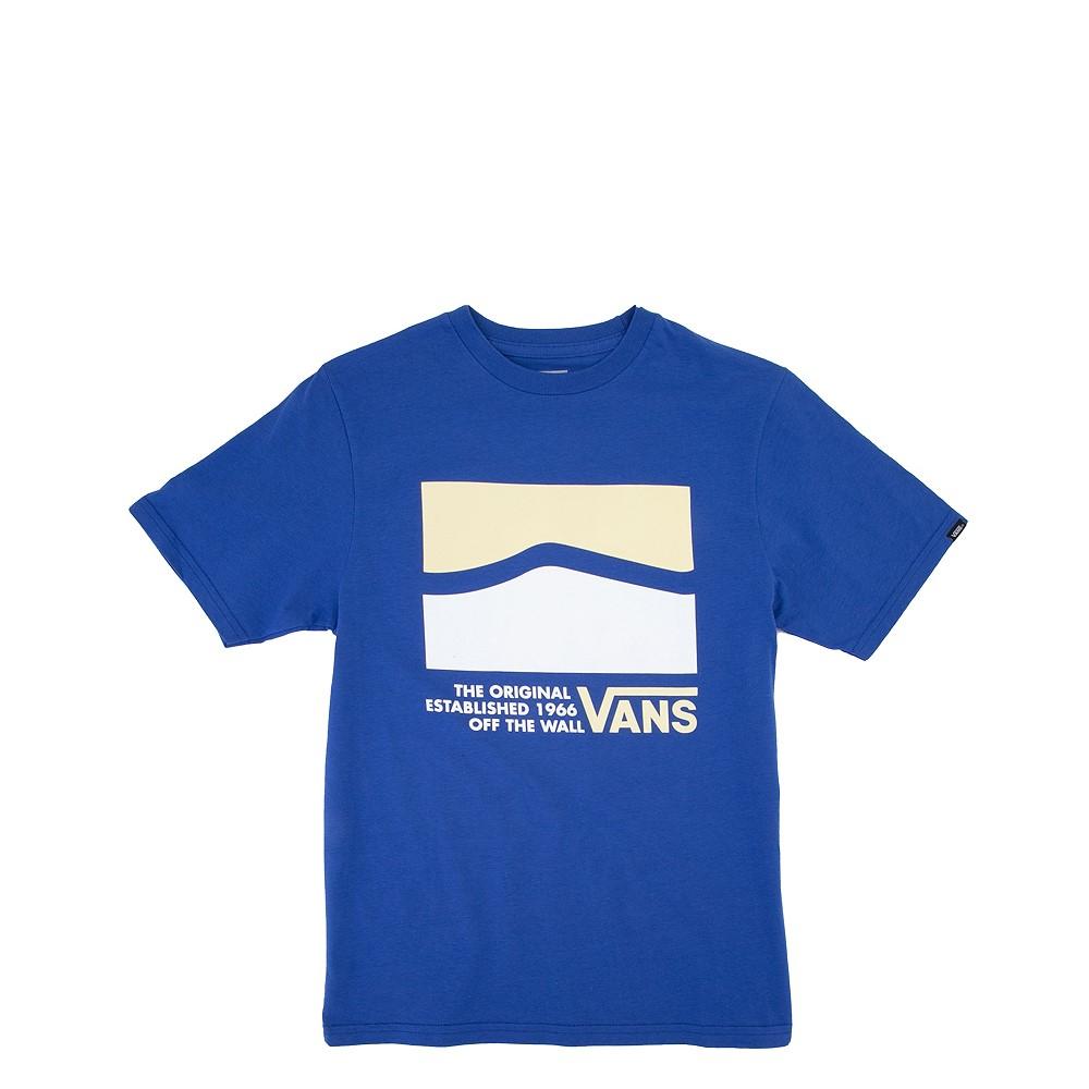 Vans OG DNA Side Stripe Tee - Little Kid / Big Kid - Blue
