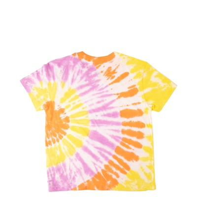 Alternate view of Vans Whiplash Boxy Tee - Little Kid / Big Kid - Orchid Tie Dye