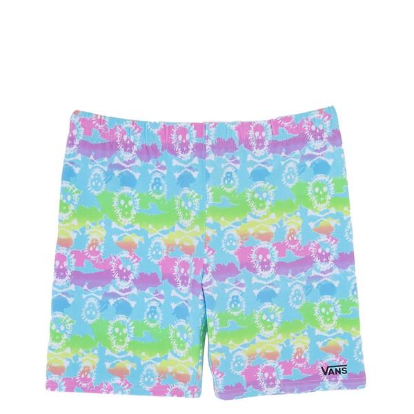 Main view of Vans Rainbow Skull Bike Shorts - Little Kid / Big Kid - Multicolor