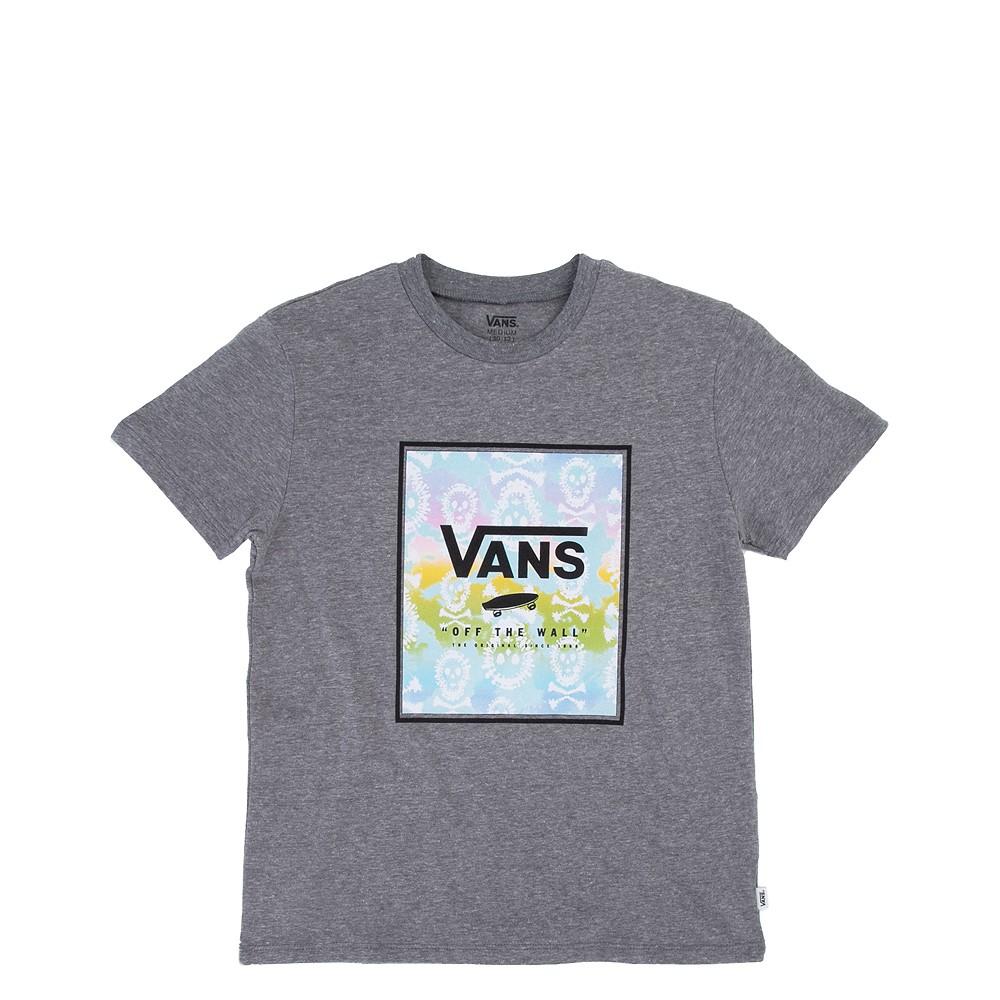 Vans Skull Box Tee - Little Kid / Big Kid - Cement Heather