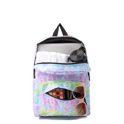 Alternate view of Vans Old Skool Rainbow Skull Backpack - Multicolor