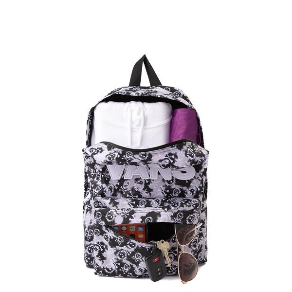 alternate view Vans Old Skool Skull Backpack - Black Tie DyeALT1