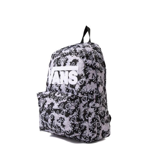 alternate view Vans Old Skool Skull Backpack - Black Tie DyeALT4