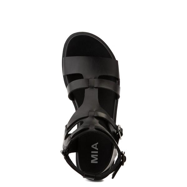 alternate view Womens MIA Kayde Gladiator Sandal - BlackALT2