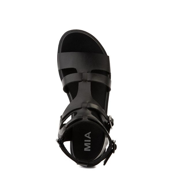 alternate view Womens MIA Kayde Gladiator Sandal - BlackALT4B