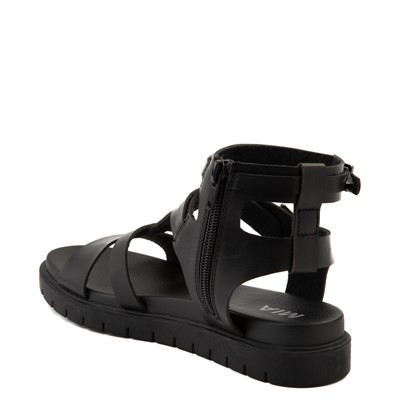 Alternate view of Womens MIA Kayde Gladiator Sandal - Black