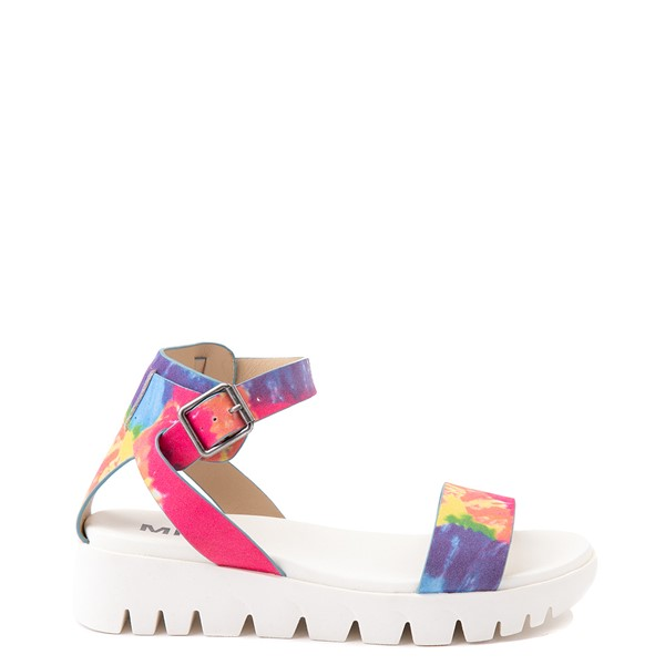 Main view of Womens MIA Mady Sandal - White / Tie Dye